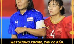"""Ảnh chế """"Hoa khôi"""" ĐT nữ Việt Nam, nữ Thái Lan """"chuẩn men"""", trọng tài xinh đẹp HOT nhất ngày"""